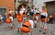 Los 'bastoners' de Lleida se citan en Peramola