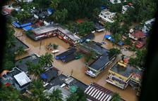 El sud de l'Índia pateix les pitjors riuades en un segle