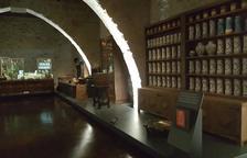 Una vista de la museïtzació de la farmàcia històrica del monestir de Vallbona de les Monges.