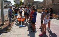 Puigverd de Lleida forma a 20 jóvenes para cuidar del pueblo y la gente mayor
