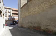 Las obras para el nuevo acceso a la iglesia de Alcoletge, en un mes