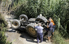 Fallece un vecino de Torrelameu de 53 años tras volcar su tractor