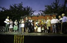 La lectura del pregó i la imposició de bandes van protagonitzar ahir els actes del barri de Balàfia.