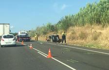Nueve heridos en cuatro siniestros en las carreteras leridanas