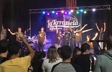 La banda leridana La Terrasseta de Preixens animó la noche del viernes el Festival de La Granadella.