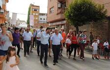 El director territorial de Agricultura en Lleida, Ferran de Noguera, inauguró el certamen.