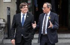 """Puigdemont diu que alguns partits estan """"flirtejant"""" amb la violència"""