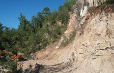 Més de mil firmes demanen reparar la via de La Vansa, Tuixent i La Seu