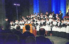 Concierto inaugural en La Seu con la Escolania de Montserrat.
