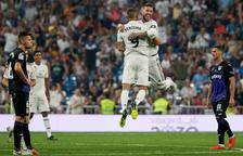Benzema y Bale lideran la goleada