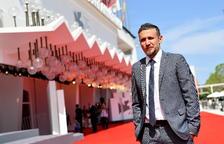 El realizador italiano Roberto Minervini en el festival de Venecia.