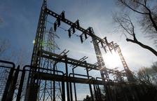 Una subestació elèctrica.