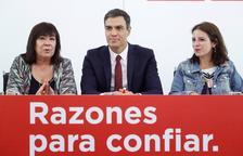 Sánchez propone que los catalanes voten un nuevo Estatut y reitera la amenaza del 155