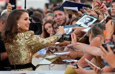 Natalie Portman triomfa també com a estrella del pop a Venècia