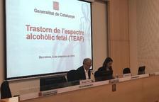 Un moment de la presentació del nou pla, ahir, a Barcelona.