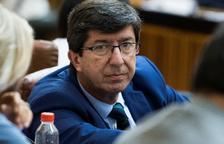 El líder de Cs a Andalusia, Juan Marín.