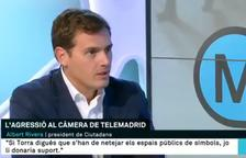 VÍDEO. Topada entre Albert Rivera i Lídia Heredia en TV3