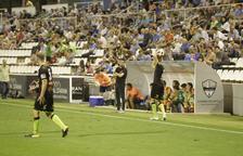Gerard Albadalejo, durante el partido del Copa del Rey ante el Teruel del pasado miércoles.