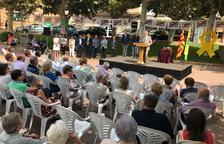 Bellpuig entrega el Premi Estel al col.lectiu de polítics independentistes a la presó o a l'estranger