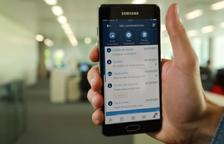 El mòbil, l'aliat per operar pel banc a tothora