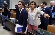 Aznar arriba