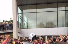 Imatge d'arxiu del dia 1 d'octubre del 2017 a Solsona.