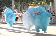 L'espectacle 'Hippos'.