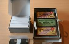 Les plaques restaurades, dipositades a l'Arxiu Generau d'Aran.