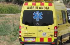 Una ambulància del Servei d'Emergències Mèdiques