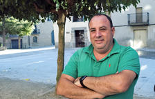 Xavier Pintó, alcalde d'Els Plans de Sió.