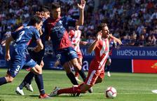 El Girona empata en Huesca con protagonismo del VAR