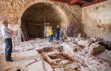 Vallbona descubre un molino de aceite del siglo XVII y proyecta hacerlo visitable