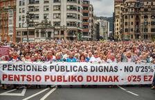 """El Gobierno """"no se puede comprometer"""" a aprobar una pensión mínima de 1.080 euros"""