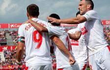 L'Eibar supera el Girona a Montilivi en un partit trepidant