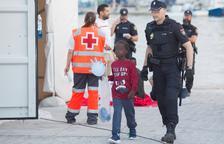 Rescatados 950 migrantes en un solo día en España