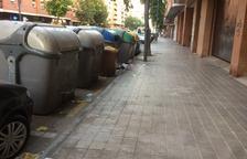 Brutícia al carrer Baró de Maials