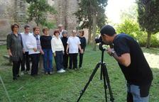 Albert Font fotografia usuaris d'Acudam i dones d'Ivars d'Urgell.