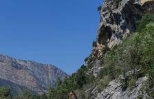 Àger millora el camí d'accés a Mont-rebei