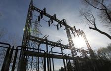 Imagen de una subestación eléctrica.