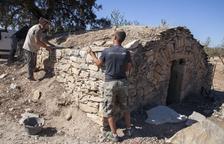 Preixana recupera dos antigues cabanes