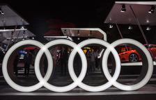 El logotip d'Audi.