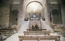 La luz llega al monasterio de Cellers tras más de mil años