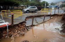 La gota freda fueteja Castelló i amenaça les Terres de l'Ebre