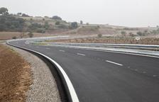 Acaba l'esperada reforma de la carretera de Tàrrega a Sant Martí