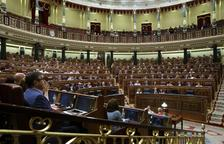 Una vista del ple del Congrés dels Diputats.