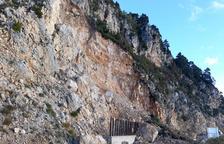 El Govern veu risc de més allaus de roques a l'accés a Port del Comte i demana actuar-hi ja