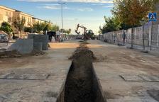 Torrefarrera finaliza el colector contra inundaciones en la avenida Europa
