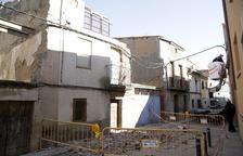 Es desploma una casa deshabitada a Fondarella