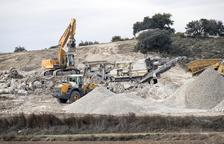 Knauf explotarà durant trenta anys el guix de 50 hectàrees de Biosca