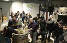 La Granadella obre les fires de l'oli amb la primera premsada